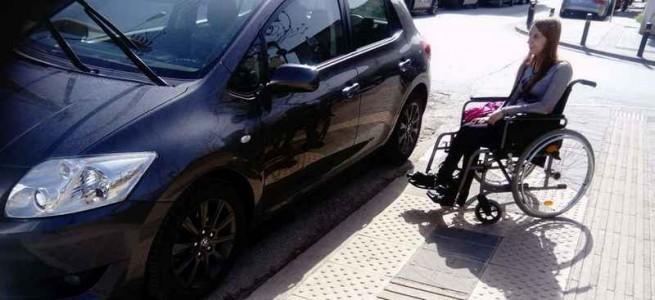 Греческие водители игнорируют пандусы для инвалидов