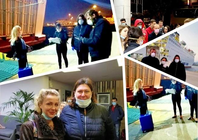 22 апреля группа украинцев смогла вернуться на родину из Греции