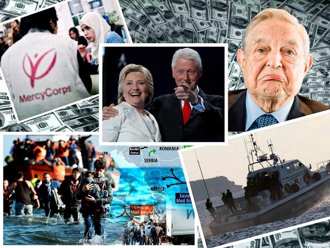 Сотрудники НПО связанного с фондом Клинтонов обвиняются в незаконном ввозе мигрантов в Грецию, шпионажу и отмыванию денег