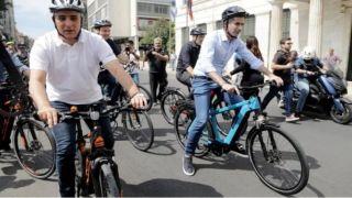 Две новые велосипедные дорожки в больших Афинах
